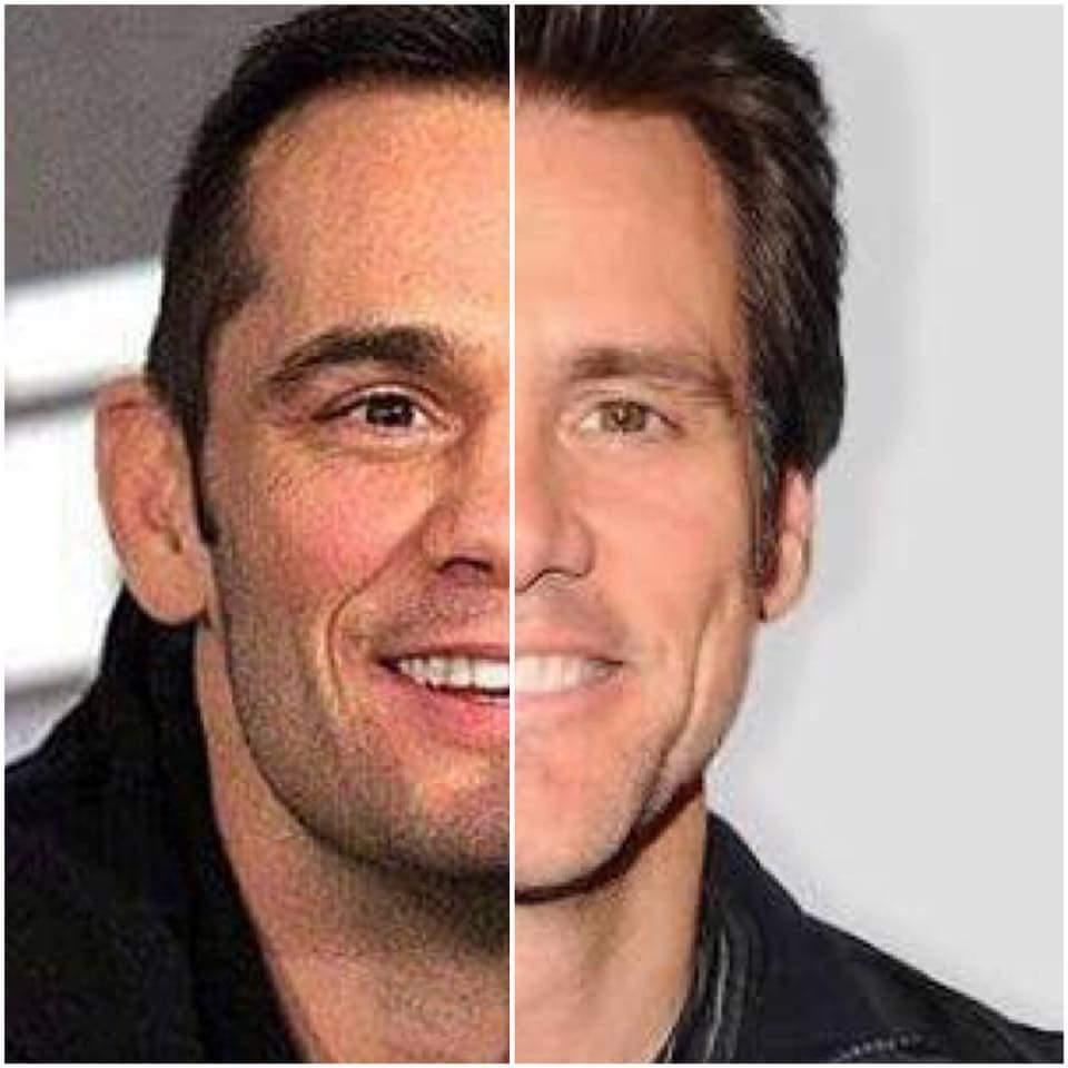 Rich Franklin Jim Carrey Doppelganger