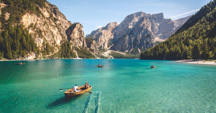 Travel Picturesque Lake